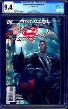 Superman Batman Annual #4 CGC 9.4 1st Batman Beyond KEY BOOK NM