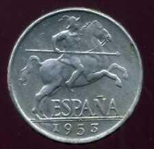 ESPAGNE 5 centimos  1953 ( 1 )