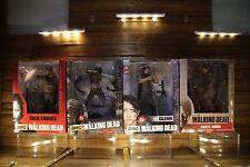 "THE WALKING DEAD McFarlane 10"" RICK Vigilante, 10"" Deluxe MICHONNE, GLENN, DARYL"