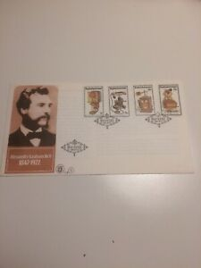 Bophuthatswana stamps 1981 FDC History of the Telephone
