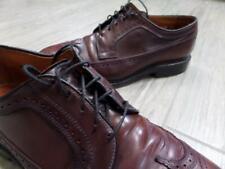 ALLEN EDMONDS wingtips SHELL CORDOVAN macneil 9 E dress shoes