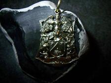 Wappen-Anhänger-Engel-Trauben-Sterne-Winkel-585er-Gelb-Gold-10.Gram