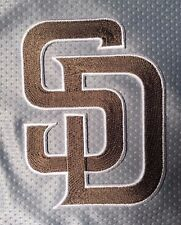 """MLB Official San Diego Padres SD Patch 4"""" tall"""