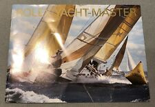 ROLEX YACHT-MASTER BOOKLET DATED 2006 Ref 600.52 Eng 1.2006