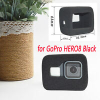 Soft Foam Windshield Housing Case Cover Shell for GoPro Hero 8 Black Camera Body