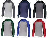 Russell Athletic Lightweight Long Sleeve UPF 30+ T-Shirt Hoodie Size S-3XL