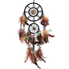 Atrapasueños Gamuza Native American Indian Style Dreamcatcher Niños Dormitorio