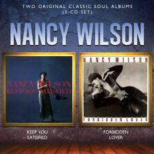 Nancy Wilson - Keep You Satisfied / Forbidden Lover [New CD] UK - Import