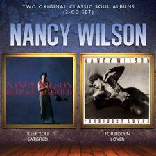 Nancy Wilson - Keep You Satisfied / Forbidden Lover [New CD] UK - Import