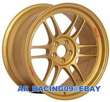 Enkei RPF1 15x7 4x100 +35 Gold 3795704935GG Civic Integra Miata