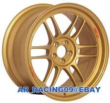 Enkei RPF1 15x7 4x100 +35 Gold 3795704935GG Civic Integra Miata