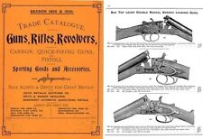 Charles Osborne & Co. 1899 - 1900 Gun and Sports Catalogue