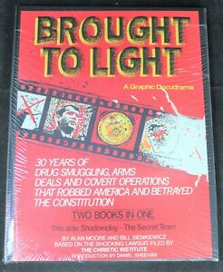 Brought To Light SEALED Hardcover by Moore & Sienkiewicz - Graphic Docudrama