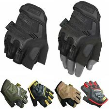 Military Tactical Fingerless Gloves Half Finger Motorcycle Hard Knuckle