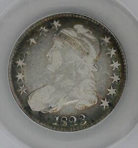 1823   50C  F 12   ANACS  --   Capped Bust Half Dollar, Miss Liberty