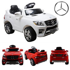 MERCEDES BENZ ML350 AMG ELECTRIC R/C REMOTE CONTROL RIDE ON CAR LICENSED TOY KID