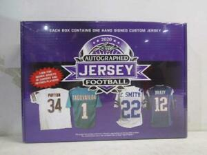 Leaf 2020 Autographed Jersey Sealed Edition Football Box