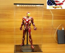 "Acrylic Display Case LED Light Box / 12"" 1/6 Scale figure model toy Gundam ❶USA❶"