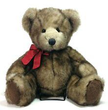 Bombay Teddy Bear Stuffed Animal Plush Faux Mink 11 Inches Tall
