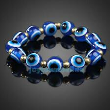 Blue Evil EYE Beads Women Amulet Bracelet Stretchy Jewelry Bangle Wristband Gift