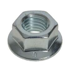 Qty 30 Hex Flange Nut M6 (6mm) Zinc Plated Serrated High Tensile Class 8 ZP
