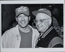 George Christy, Bruce Willis, Petros Markaris ORIGINAL PHOTO HOLLYWOOD