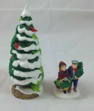 Dept. 56 - The Holly And The Ivy - 1997 Event Piece - Set Of 2