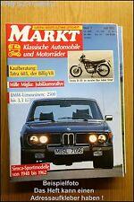 Oldtimer Markt 7/92 BMW 2500 Simca Yamaha Tatra 603