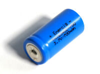 Enercig 16340 CR123A 3.7V 700mAH Li-ion aufladbare Akkuzelle - Button-Top