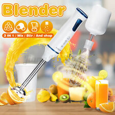 1000W Electric Fruit Juicer Cup Hand Blender Stick Baby Food Processor Mixer Kid