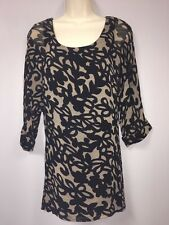 Jade By Melody Tam From Nordstrom 3/4 Sleeve Tunic Size S