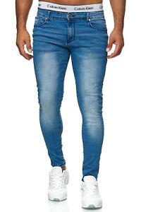 Herren Jeanshosen Stretch Hose Jeans Slim fit SUPER SKINNY Jeans 8307 JL