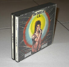 2 Cd DAVID BOWIE The Duke of L.A. 1990 PERFETTO Italy Live Los Angeles 1974 LA
