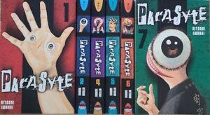 Parasyte Vol. 1 -7 English Manga Graphic Novels Brand New Lot