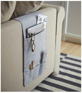 Ikea KNALLBAGE Felt Hanging Pocket Organizer Phone Holder Storage NEW