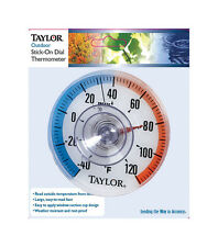 Taylor  3-1/2 in. Outdoor  Dial Thermometer