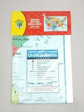 """United States Wall Map 40""""×28"""" Classroom Library Office Geography History Office"""