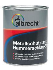 Albrecht Metallschutzlack Hammerschlag Effekt 375ml 750ml o. 2,5l versch. Töne