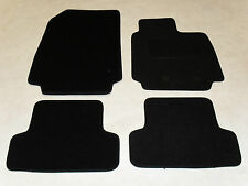 Renault Clio 2013-on Fully Tailored Deluxe Car Mats in Black.