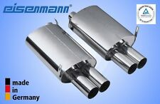 Eisenmann BMW z3 M ROADSTER/COUPE 4x76mm l'ORIGINALE! in acciaio inox