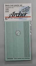 Archer S-Scale (1/64) Resin Rivet Starter Set (4 different types) AR88093