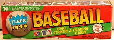 1990 FLEER Baseball Cards Complete Set 660 Cards + 45 stickers Sammy Sosa Ripken