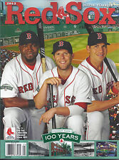 BOSTON RED SOX 2012 YEARBOOK - Brand New - Ortiz/Pedroia/Ellsbury - FREE SHIP!