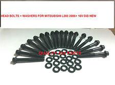 MITSUBISHI L200 motore 4D56U 2.5 DiD KB4T 06 + Testata Bulloni NUOVO di zecca
