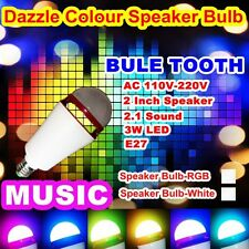 E27 LED Bulb Bluetooth Speaker With Remote Control