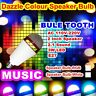 E27 LED Bulb Bluetooth Speaker With Remote Control