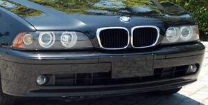 BMW E39 5 Series 1997-2000 Genuine Hella European HALO Amber Headlamps Brand New