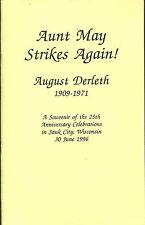 Aunt May Strikes Again!-August Derleth 1909-1971-25th Anniversary-Arkham House
