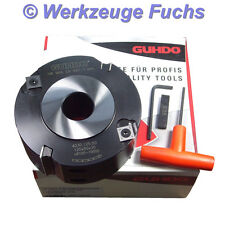 GUHDO HW (HM) WPL Falzkopf 125x50mm Fügefräser Falzfräser Falzmesserkopf Stahl