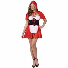 Red Hot Riding Hood Adult Sexy Little Storybook Fairytale Halloween Costume